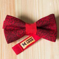 Галстук-бабочка красного цвета Стоимость 790р.  Чтобы заказать пишите в л.с.  или по т. +7 950 038 54 26