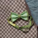 Галстук-бабочка зеленого цвета из натурального льна. Стоимость бабочки 790р. Чтобы заказать пишите в л.с.  или по т. +7 950 038 54 26