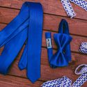 Галстук и бабочка синего цвета. Стоимость комплекта 2390р.  Чтобы заказать пишите в л.с.