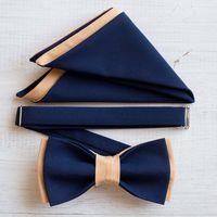 Комплект бабочка + платочек. Синий и светло-персиковый. Цена комплекта: 1200 р.  Чтобы заказать пишите в л.с.  или по т. +7 950 038 54 26 Мастерская CheeseLove♥