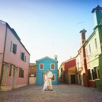 Италия, Венеция, фотосессия на острове Бурано
