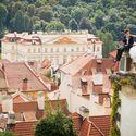 Чехия, Прага. Фотосессия в Пражском граде. Видовая площадка
