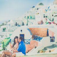 Фотосессия в городе Ия на острове Санторини, Греция