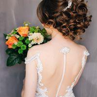 Свадебная прическа для Эвы