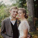 Эко-свадьба, портрет, жених и невеста
