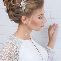 Прическа и макияж - свадебный стилист Арина Погорелова