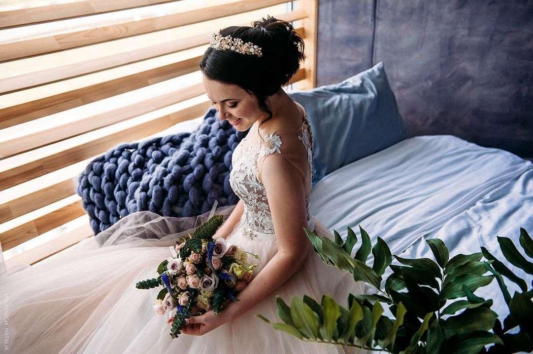 Букет невесты Татьяны - фото 17092120 Цветочка - студия флористики