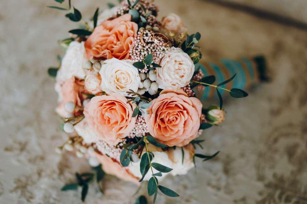 Букет невесты Анжелики - фото 17092142 Цветочка - студия флористики