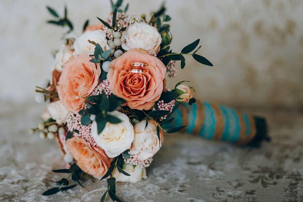 Букет невесты Анжелики - фото 17092144 Цветочка - студия флористики