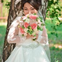 Букет невесты Камажай