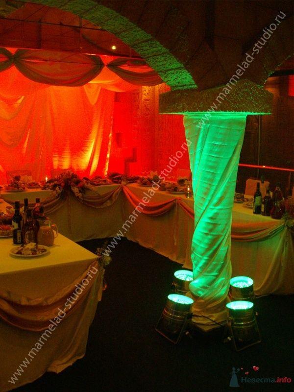 """Фото 25760 в коллекции Оформление свадьбы тканями - Студия праздника """"Мармелад"""""""