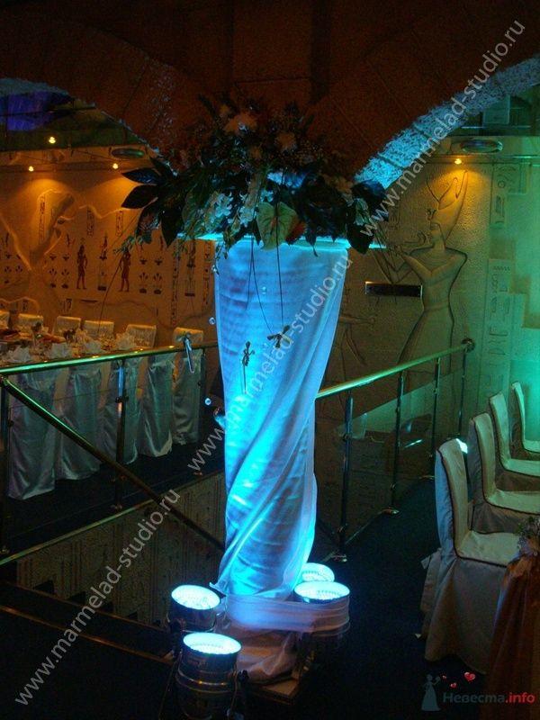 Фото 25762 в коллекции Оформление свадьбы тканями