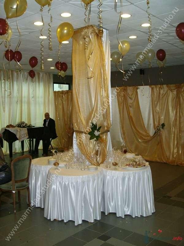 """Фото 25788 в коллекции Оформление свадьбы тканями - Студия праздника """"Мармелад"""""""
