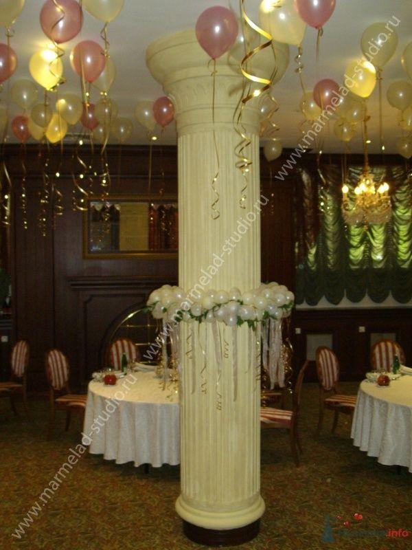 Фото 26231 в коллекции Оформление свадьбы воздушными шарами