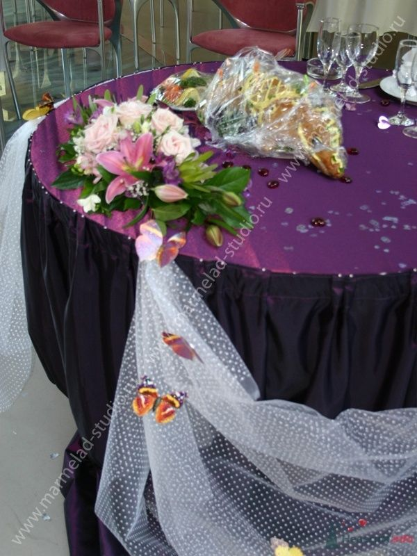 Фото 26254 в коллекции Оформление свадьбы воздушными шарами