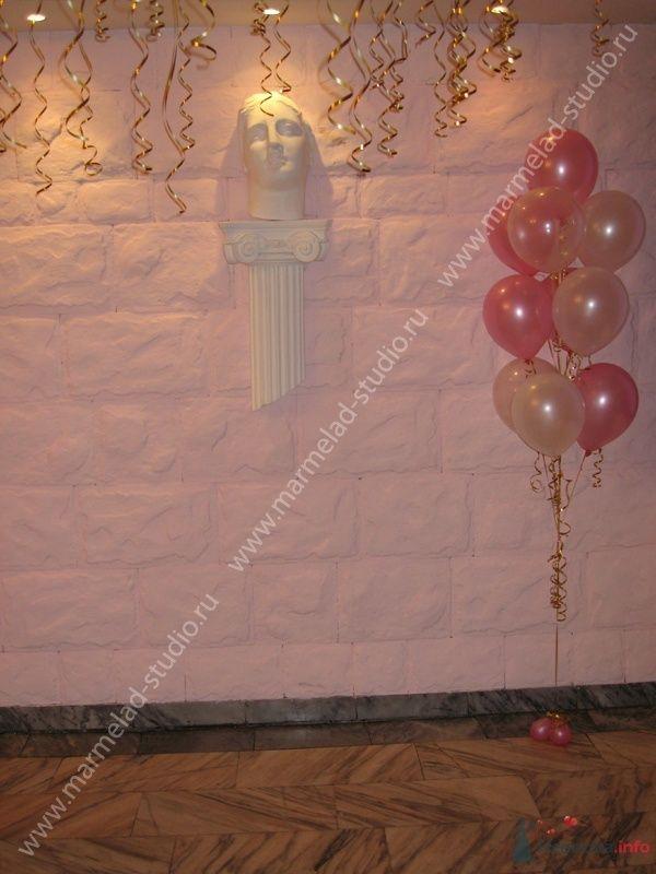 Фото 26258 в коллекции Оформление свадьбы воздушными шарами