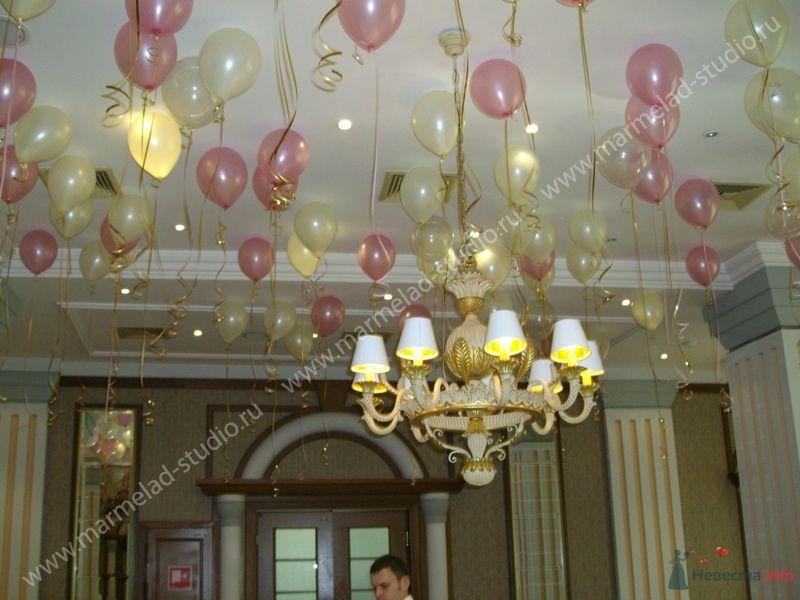 Фото 26298 в коллекции Оформление свадьбы воздушными шарами