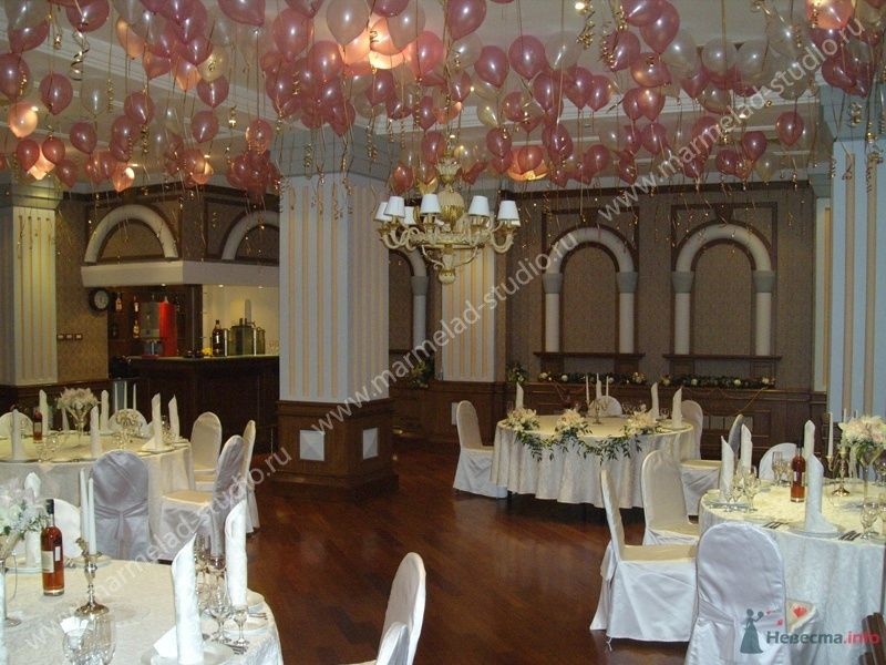 Фото 26305 в коллекции Оформление свадьбы воздушными шарами