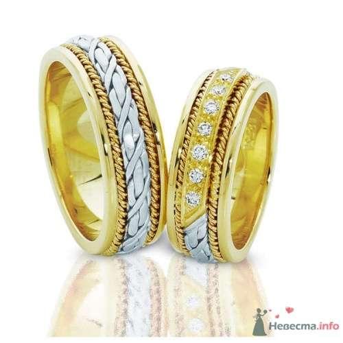 Обручальные кольца  Артикул 1566 - фото 12496 Ювелирный интернет-магазин Rings