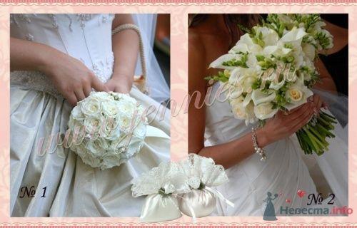 """Букеты невесты из нашей коллекции """" Classik white"""" - фото 12857 Флористическая студия """"Jennies"""""""