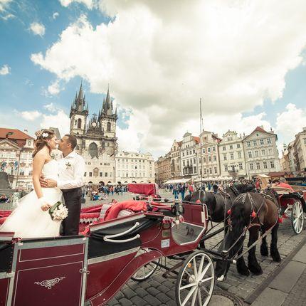 Свадебная видеосъёмка в Праге