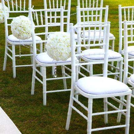 Аренда свадебных стульев Chiavari