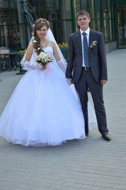 Прическа и макияж для невесты виктории 17.08.2013 - фото 1483245 Любовь Мостович - свадебные и вечерние прически