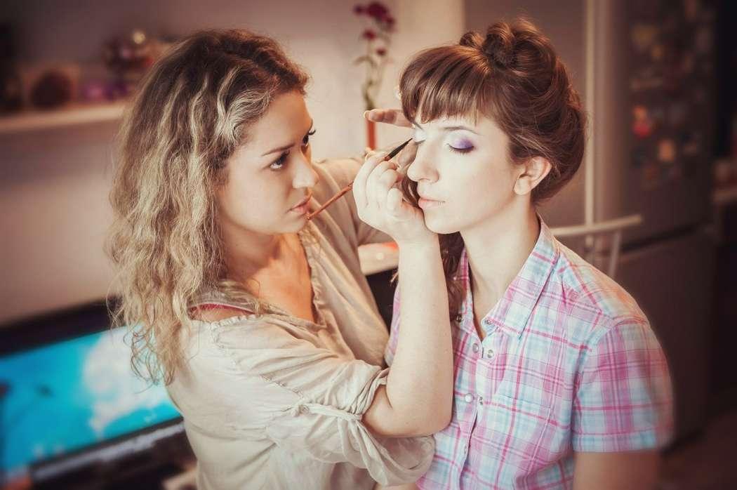 макияж и прическа - фото 15220200 Визажист - стилист Ксюша Nika