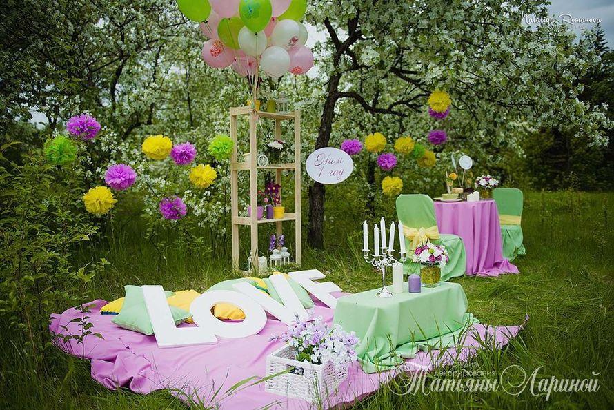 Фотозона для детского дня рождения на природе своими руками 51