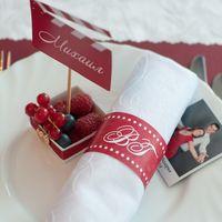 Малиновая ягодная свадьба