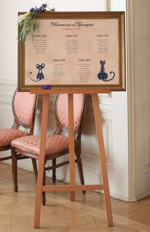"""кошки мышки синяя фиолетовая персиковая свадьба - фото 6443104 Студия флористики и декора """"Глориоза"""""""