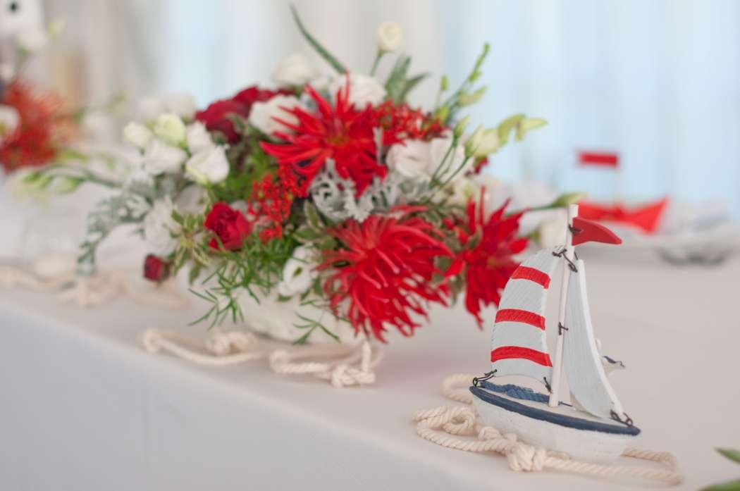 "морская свадьба - фото 6618396 Студия флористики и декора ""Глориоза"""