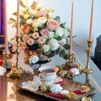 декор сборы невесты в отеле