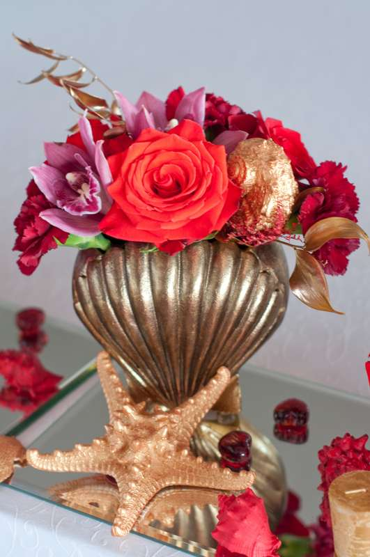 "морская свадьба кораллы ракушки - фото 15795550 Студия флористики и декора ""Глориоза"""