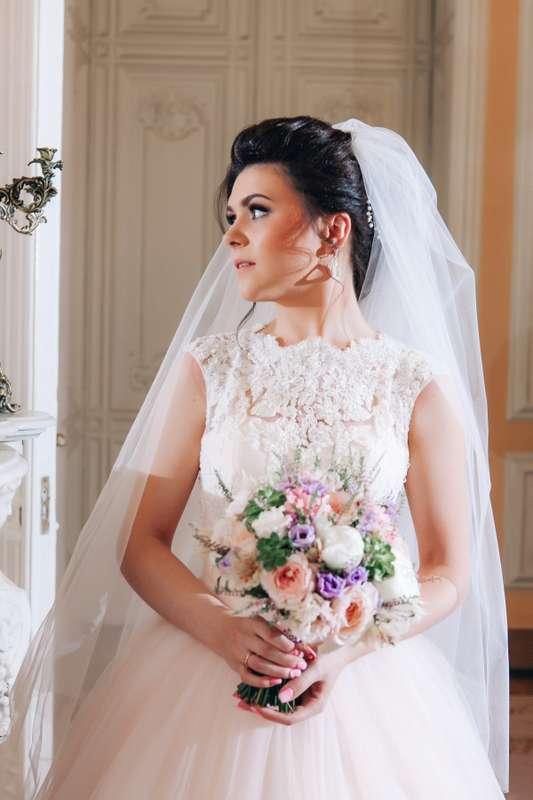 "розово-сиреневый букет невесты - фото 16311568 Студия флористики и декора ""Глориоза"""