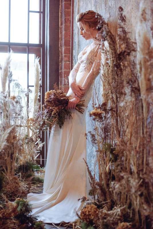 """Фото 17277308 в коллекции Утро невесты """"Травы и сухоцветы"""" в фотостудии Polygon - Студия флористики и декора """"Глориоза"""""""