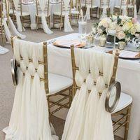 Оформление стульев. Декор стульев