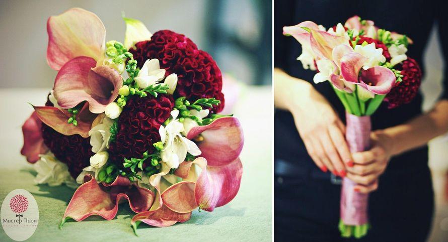 Фото 12273896 в коллекции Свадебный букет невесты - Мистер Пион by IRINA Burtceva Flowers&Decor