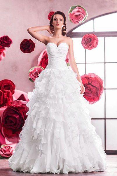 """Фото 1548411 в коллекции Свадебные платья под заказ! - Интернет-магазин свадебных платьев """"Невеста"""""""