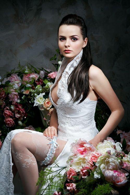 Фото невеста в панталонах