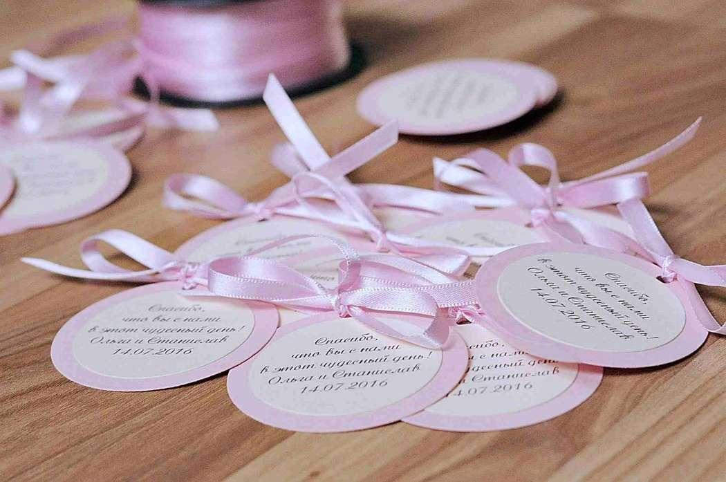 Открытка гостям на свадьбе, открытка