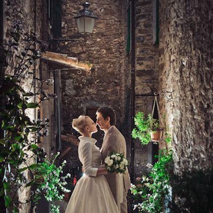 Официальная регистрация брака в горах Лигурии