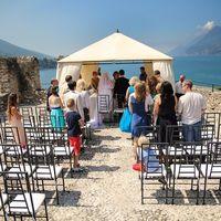 Официальная регистрация брака на озере Гарда
