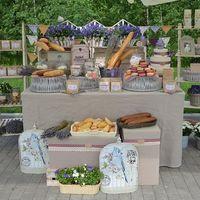 Сладкий стол в стиле Прованс с лавандой и ягодами