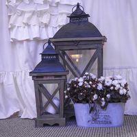 фонари, свечи и подсвечники для декора