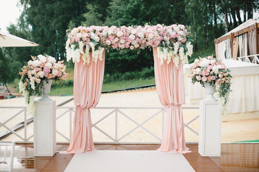 Прямоугольная арка в классическом стиле - фото 17316290 Premiumflor - декор и флористика