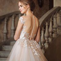 Свадебное платье Eliza Lux.  Цена указана на сайте:    Photo:  Muah: