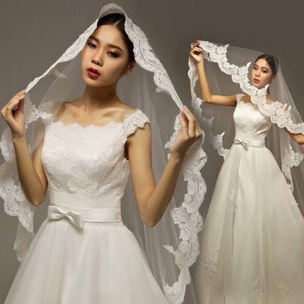 Свадебная фата А685