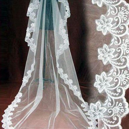 Свадебна фата А713