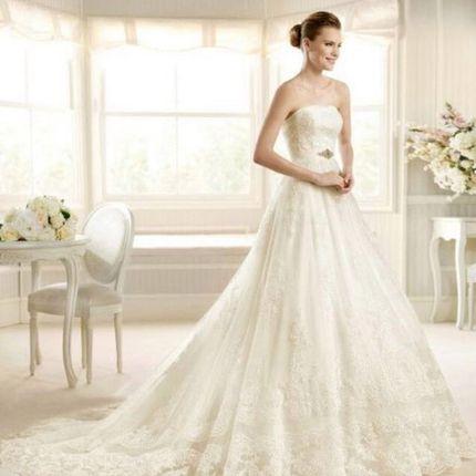 Аренда свадебного платья, модель А816